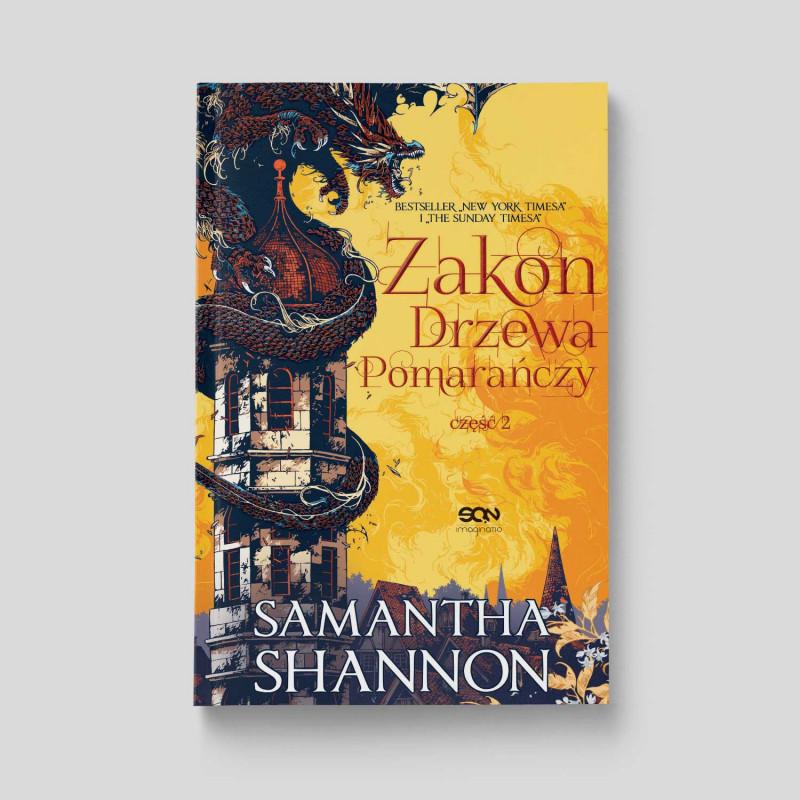 Zdjęcie okładki książki Zakon Drzewa Pomarańczy. Część 2, Samantha Shannon na SQN Store.pl