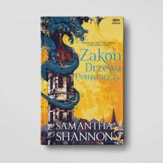 Okładka książki Zakon Drzewa Pomarańczy. SQN Originals TW Samantha Shannon na SQN Store