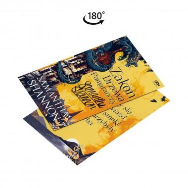 Zdjęcie gadżetu Dwustronna pocztówka Zakon drzewa pomarańczy na SQN Store