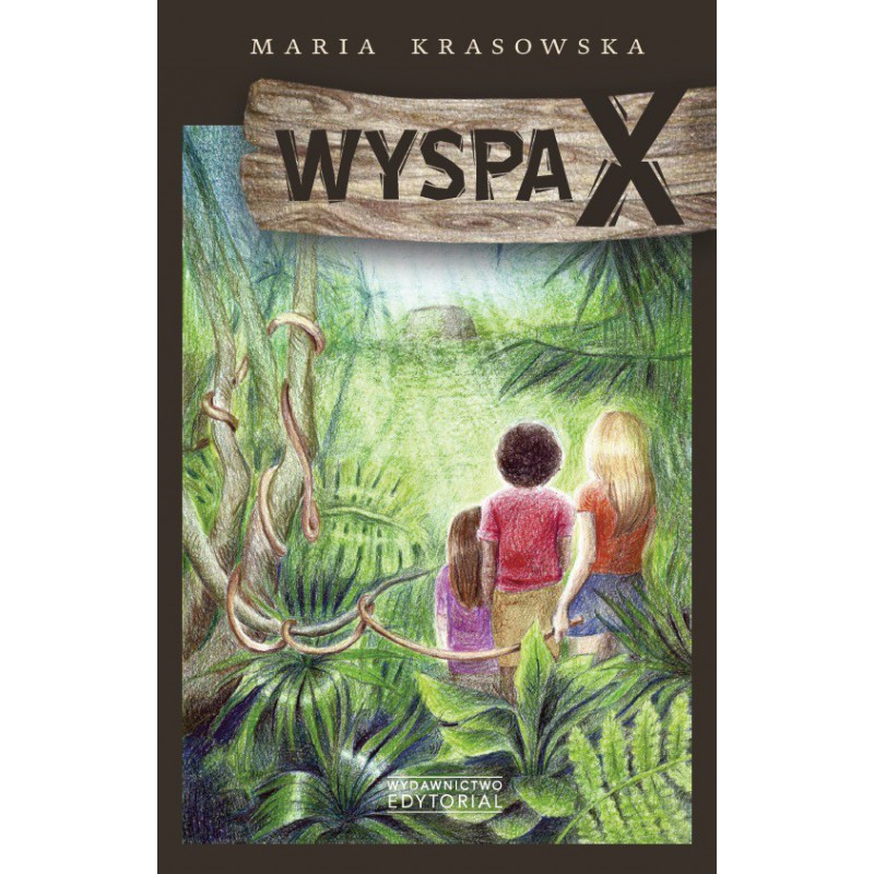 Okładka książki Wyspa X w księgarni SQN Store