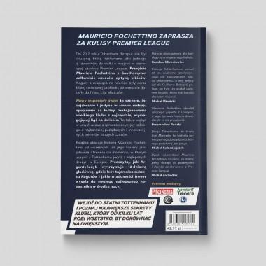 Okładka książki Nowy wspaniały świat. Tottenham pod wodzą Pochettino w księgarni SQN Store