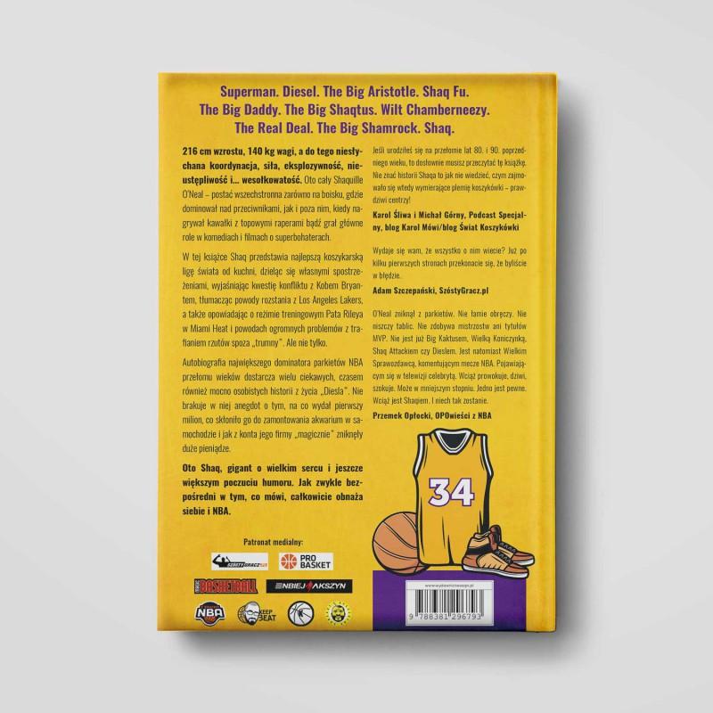Okładka książki Shaq. Bez cenzury. Wyd. II w księgarni SQN Store