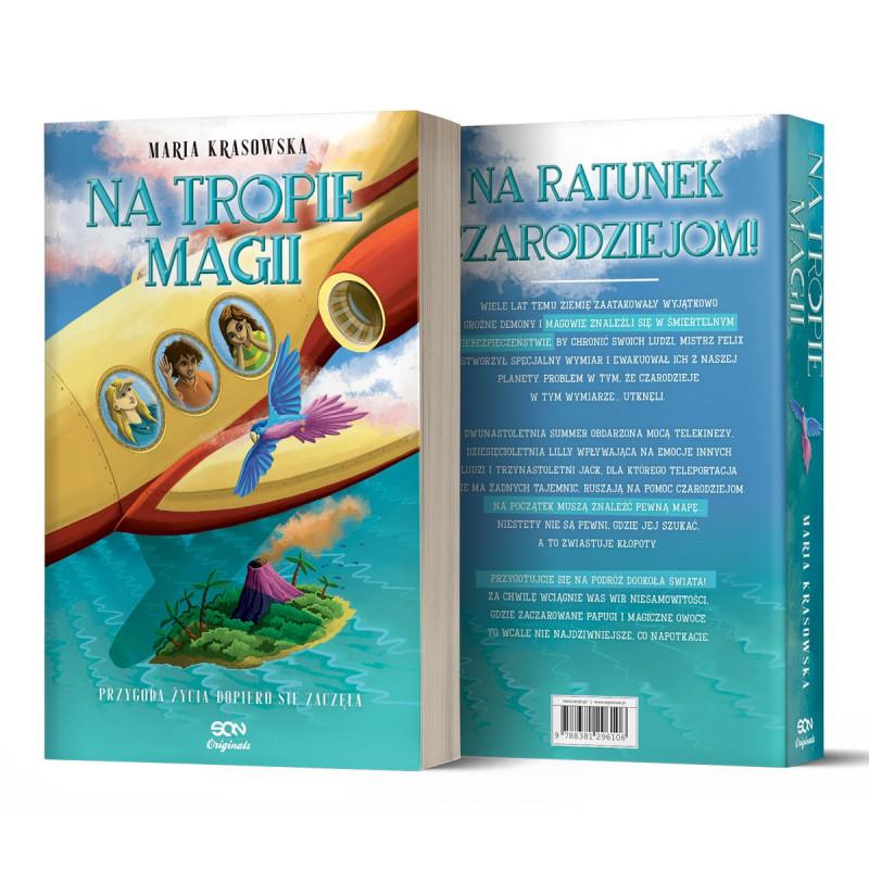 Okładka książki Na tropie SQN Originals magii w księgarni SQN Store