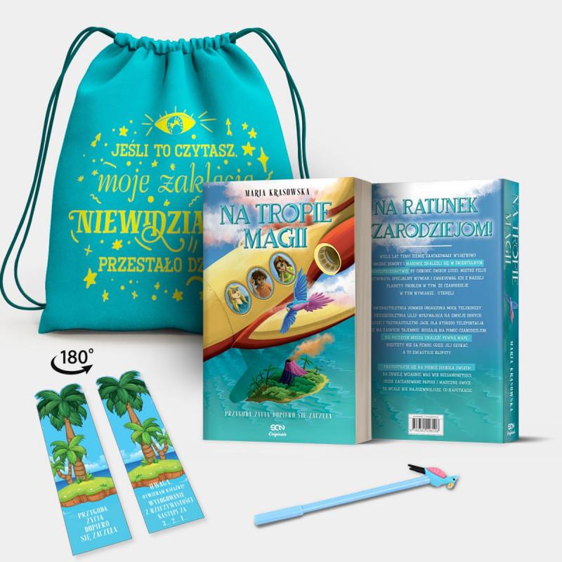 Bookbox Na tropie magii SQN Originals Marysi Krasowskiej w SQN Store