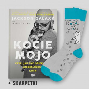Książka kocie mojo i skarpetki kot w butach w SQNstore