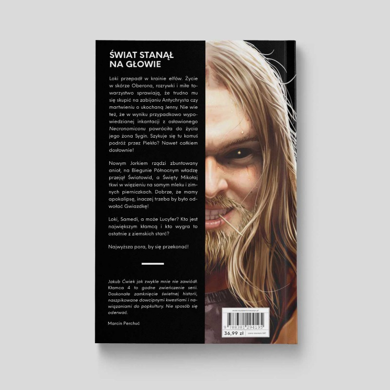 Okładka książki Kłamca 4. Kill'em all w księgarni SQN Store