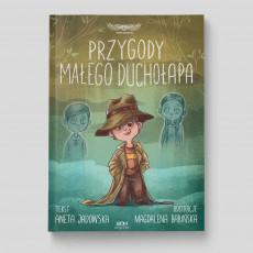 Okładka książki Przygody małego duchołapa w księgarni SQN Store