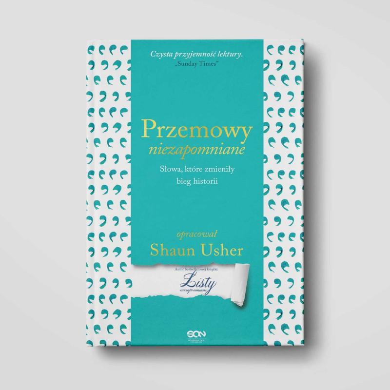 Okładka książki Przemowy niezapomniane. Słowa, które zmieniły bieg historii w księgarni SQN Store