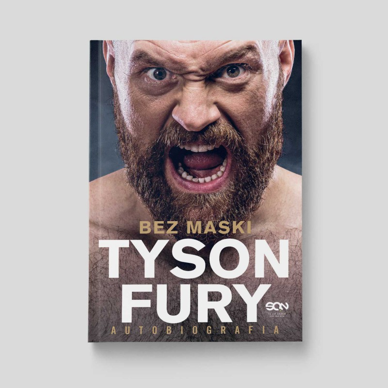 Okładka książki Tyson Fury. Bez maski w księgarni SQN Store