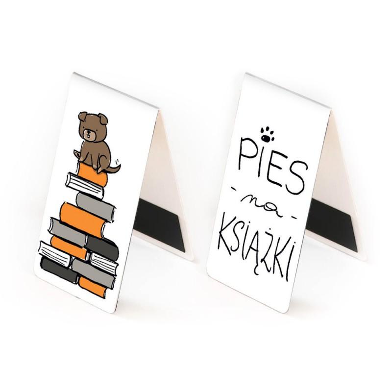Zakładka magnetyczna Pies na książki w SQN Store