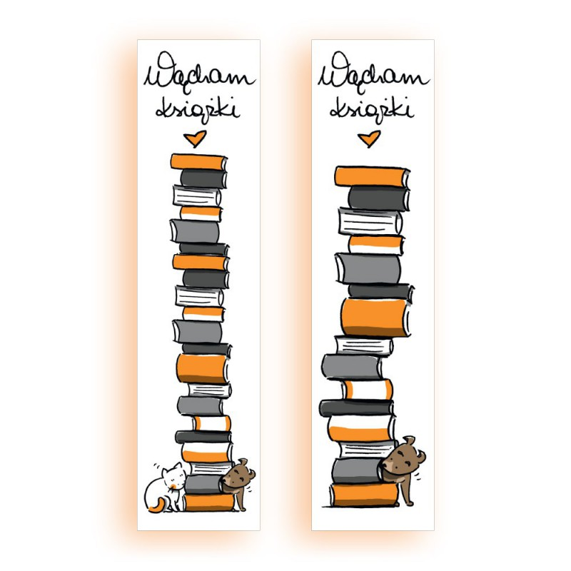 Zdjęcie gadżetu Zakładka kartonowa Wącham książki w księgarni SQN Store