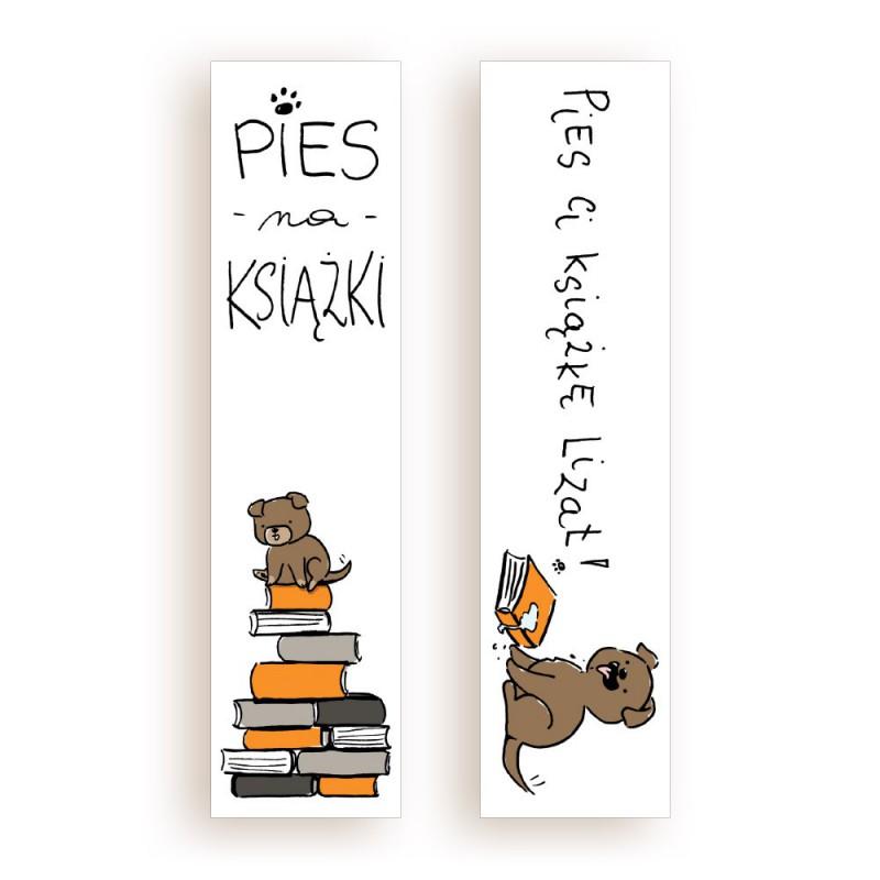 Zdjęcie gadżetu Zakładka kartonowa Pies na książki w księgarni SQN Store