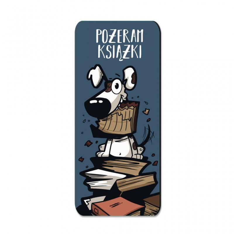 Zdjęcie gadżetu Magnes na lodówkę Pożeram książki w księgarni Labotiga