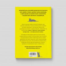 Okładka książki Kocie mojo Jackson Galaxy dr Mikel Delgado Bobby Rock w SQN Store tył