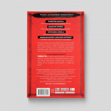 Okładka książki Cynobrowe pola SQN Store tył