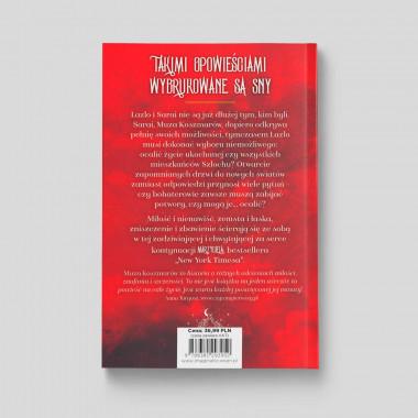 Okładka książki Muza koszmarów. Tom 2. The muse of nightmares w SQN Store tył