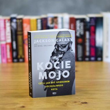 Okładka książki Kocie mojo Jackson Galaxy dr Mikel Delgado Bobby Rock w SQN Store