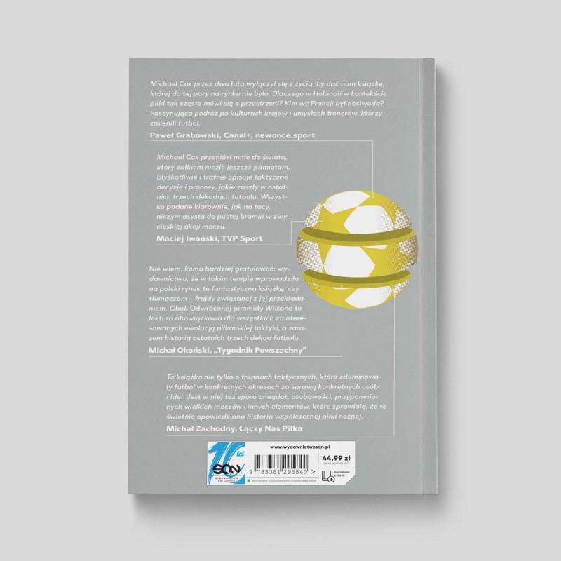 Okładka książki Gegenpressing i tiki-taka. Jak rodził się nowoczesny europejski futbol w księgarni SQN Store
