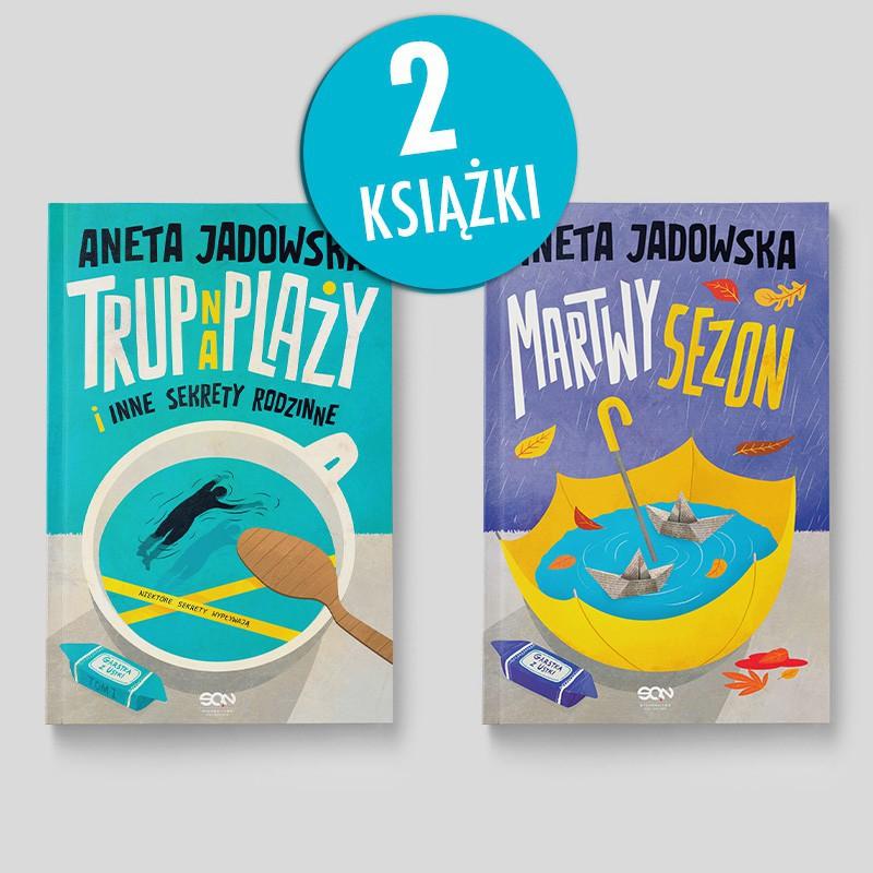 Zdjęcie pakietu Trup na plaży i inne sekrety rodzinne + Martwy sezon w księgarni SQN Store