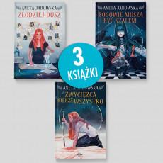 Zdjęcie pakietu książek Złodziej dusz + Bogowie muszą być szaleni + Zwycięzca bierze wszystko w SQN Store