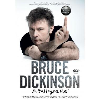 Okładka książki Bruce Dickinson. Autobiografia w księgarni SQN Store