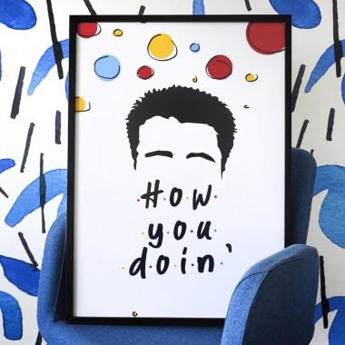 Plakat How to doin' Przyjaciele (30 x 42 cm)