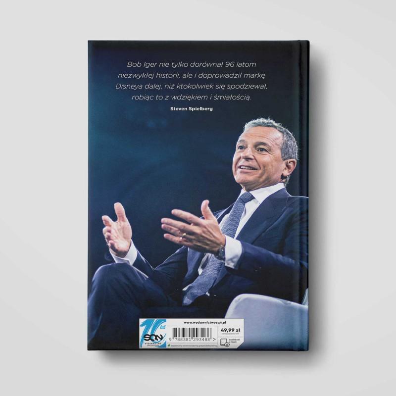 Okładka książki Przejażdżka życia. Czego nauczyłem się jako CEO The Walt Disney Company w SQN Store