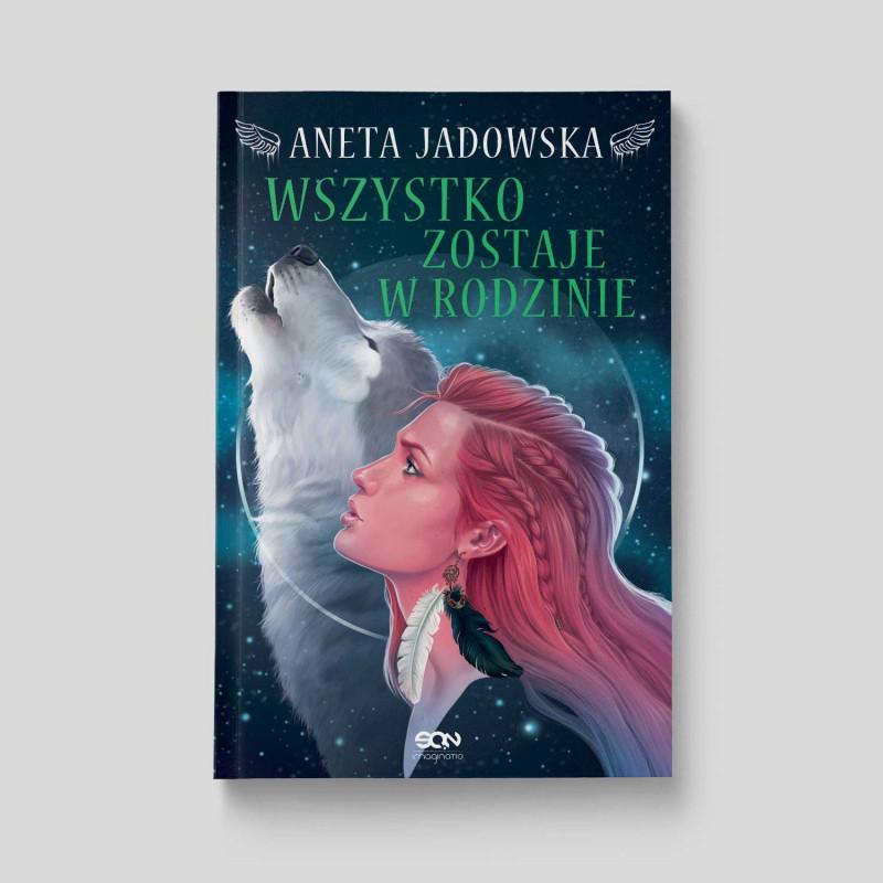 Okładka książki Wszystko zostaje w rodzinie w księgarni SQN Store