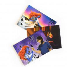Zestaw pocztówek Muza Koszmarów w SQN Store