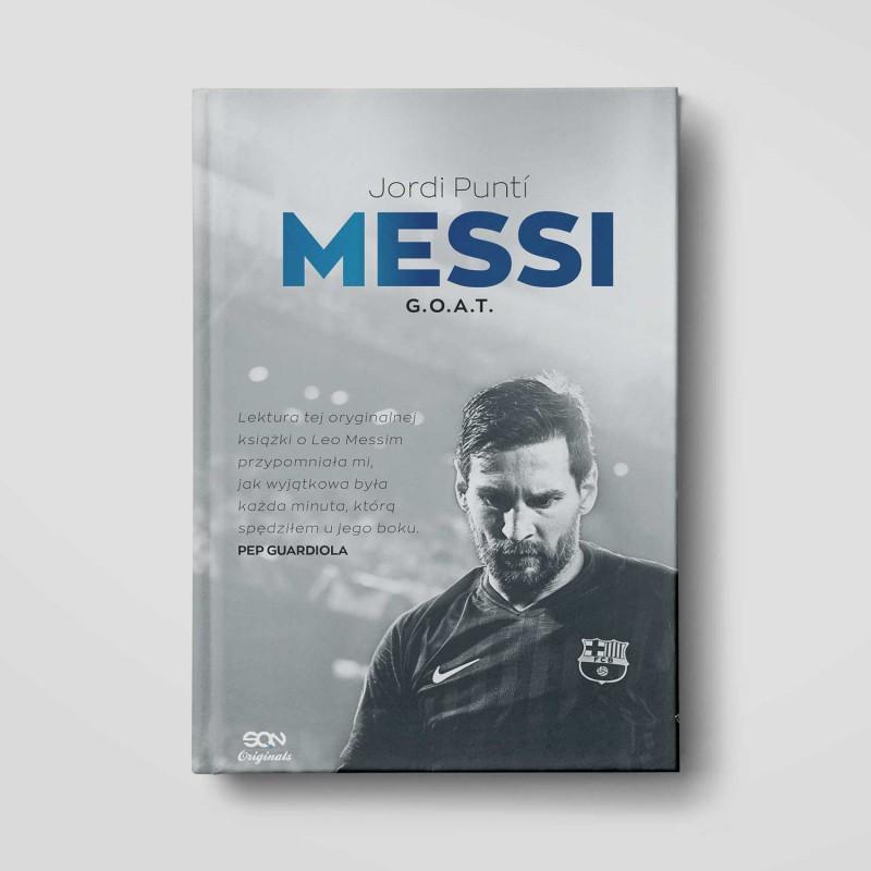 Okładka książki SQN Originals: Messi. G.O.A.T. w księgarni SQN Store