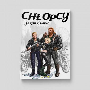 Okładka książki Chłopcy. Wydanie II w księgarni SQN Store