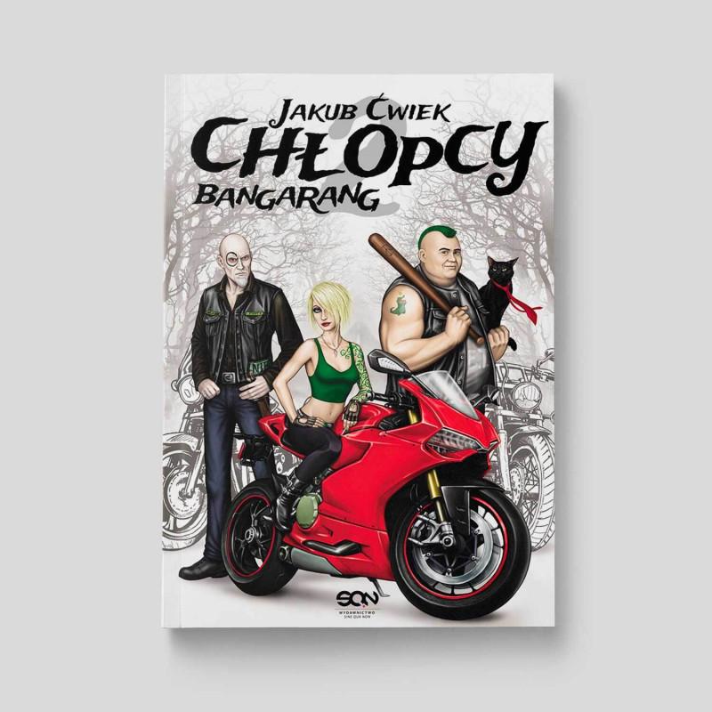 Okładka książki Chłopcy 2. Bangarang w księgarni SQN Store