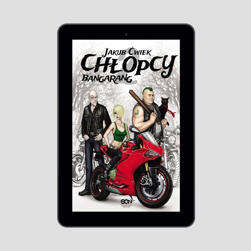 Okładka e-booka Chłopcy 2. Bangarang w księgarni SQN Store