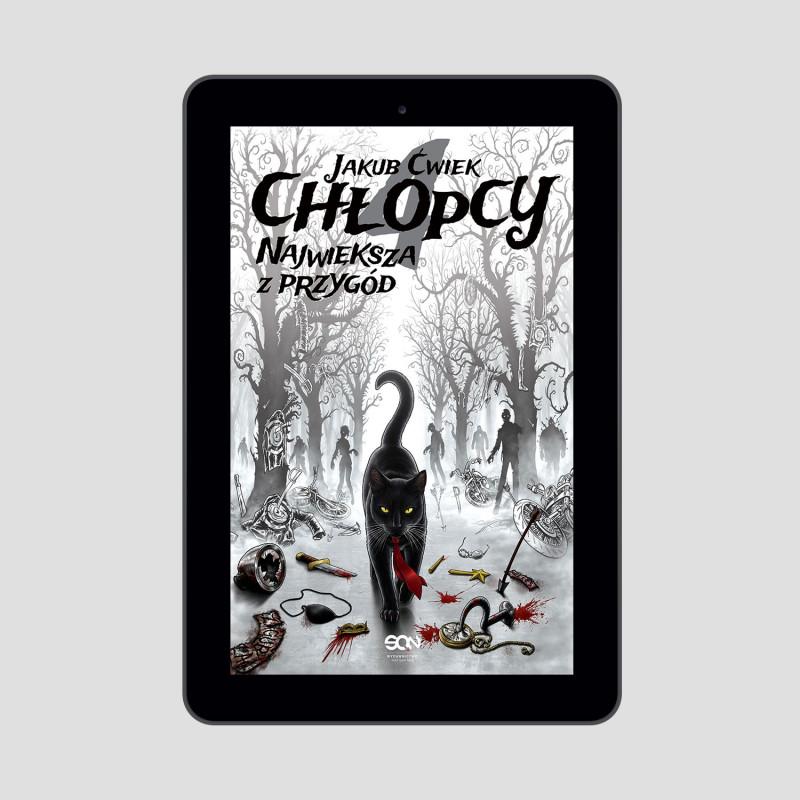 Okładka e-booka Chłopcy 4. Największa z przygód w księgarni SQN Store