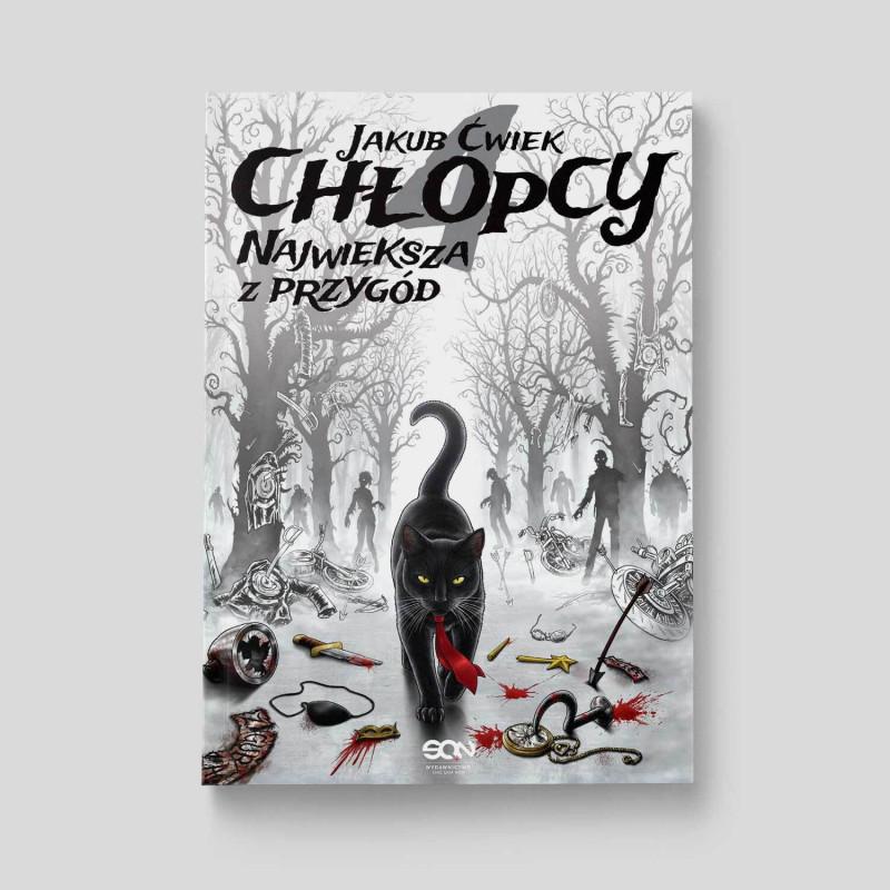Zdjęcie okładki Chłopcy 4. Największa z przygód w księgarni SQN Store