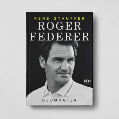 Oładka książki Roger Federer. Biografia w księgarni SQN Store