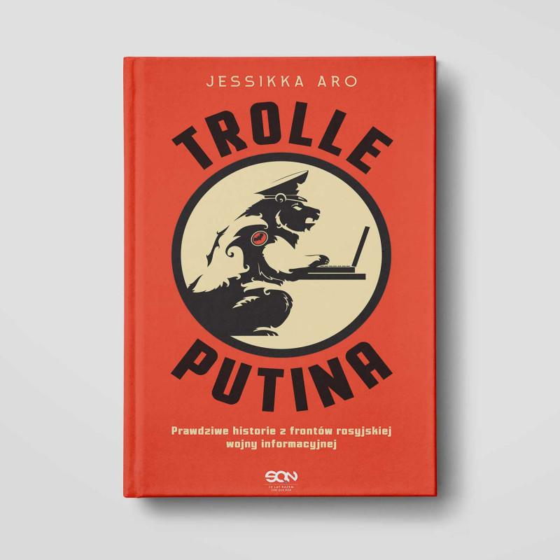 Okładka książki Trolle Putina  w księgarni SQN Store