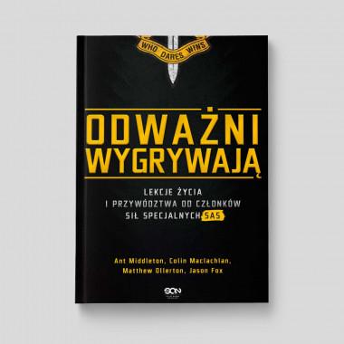 Okładka książki Odważni wygrywają w księgarni SQN Store