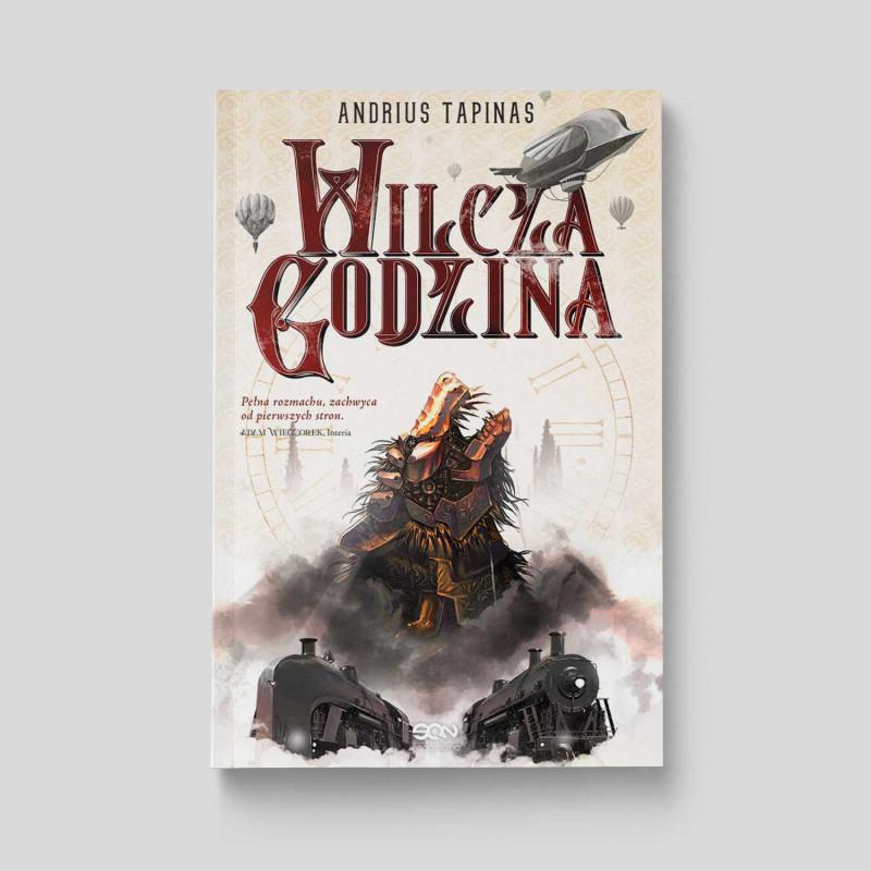 Okładka książki Wilcza godzina w SQN Store front