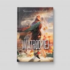 Okładka książki Wiatrodziej w SQN Store front