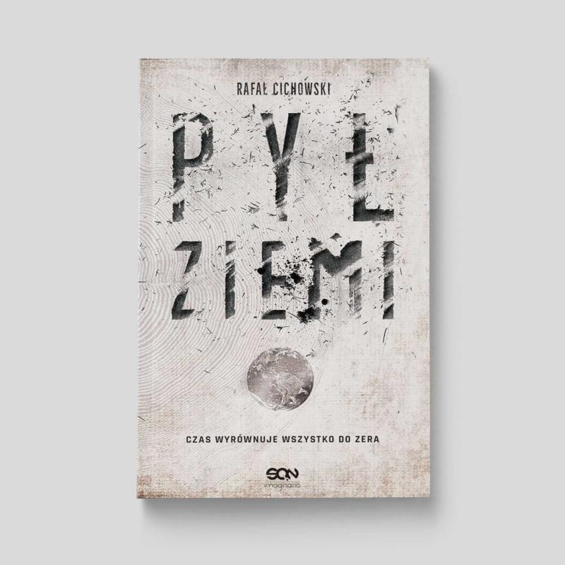 Okładka książki Pył Ziemi w SQN Store front
