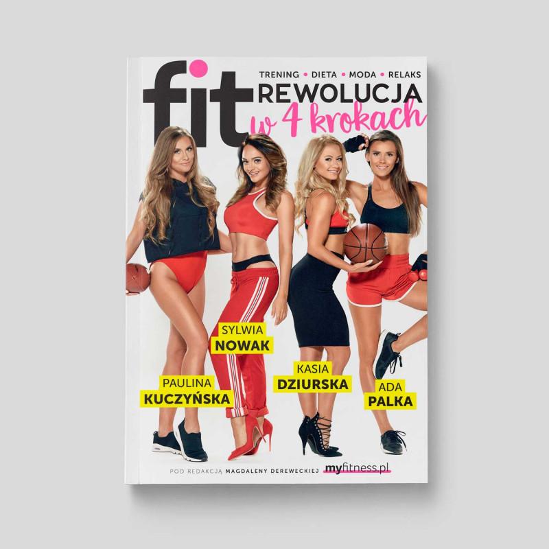 Okładka książki fitRewolucja w 4 krokach. Trening, dieta, moda, relaks w SQN Store front