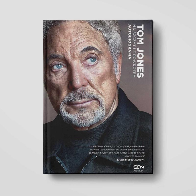 Okładka książki Tom Jones. Na szczyt i z powrotem. Autobiografia w SQN Store front