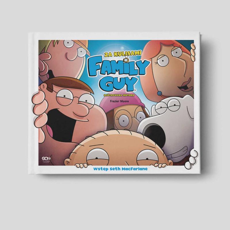 Okładka książki Family Guy. Za kulisami na zawsze w księgarni SQN Store