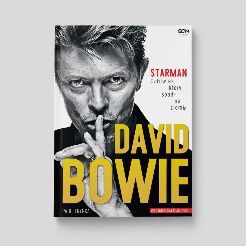 Okładka książki David Bowie. STARMAN w SQN Store front