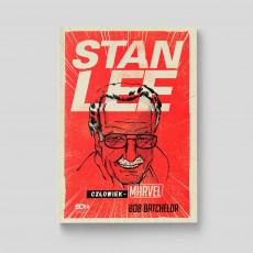 Okladka ksiązki Stan Lee. Człowiek-Marvel w SQNstore front