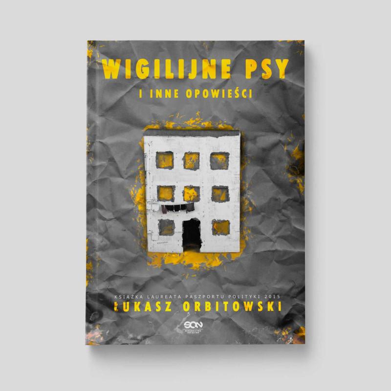 Okładka książki Wigilijne psy i inne opowieści w SQN Store front