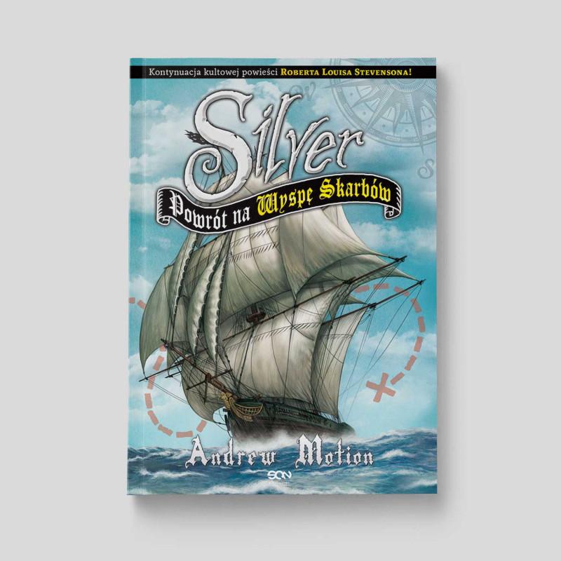 Okładka książki Silver. Powrót na Wyspę Skarbów w SQN Store front