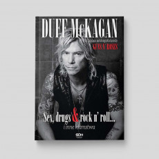 Okładka książki Duff McKagan. Sex, drugs and rock n' roll w SQN Store front