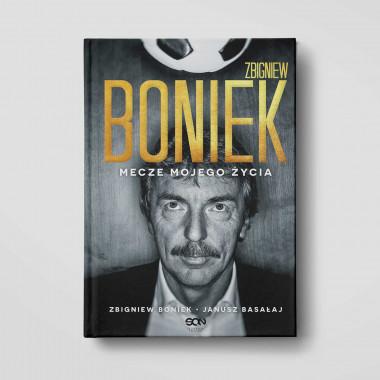 Okładka książki Zbigniew Boniek. Mecze mojego życia w księgarni SQN Store